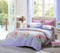 brushed pattern bed pure Daphne Cotton Bedding Sets