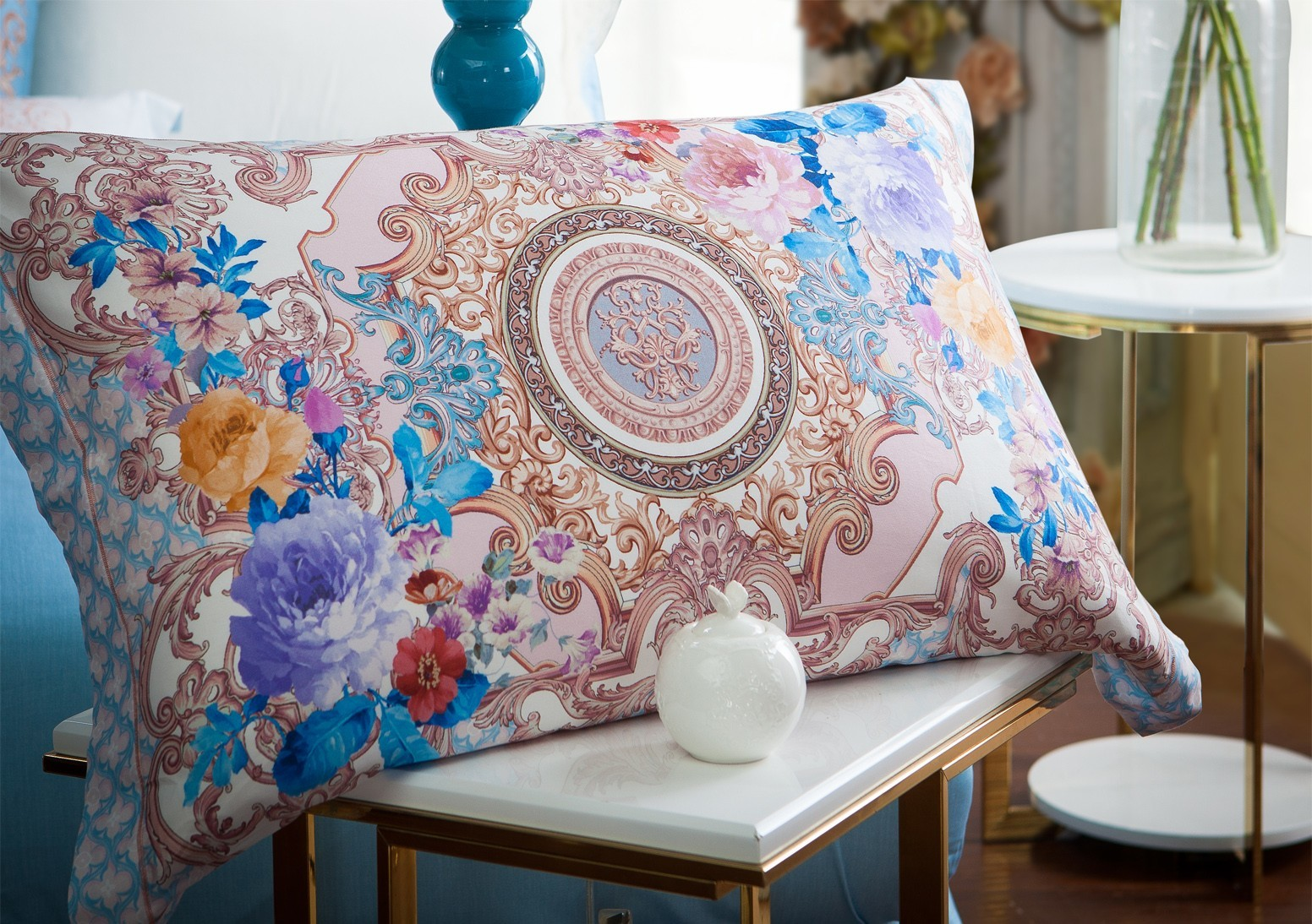 Daphne Brand fashionable printed embroidery Cotton Bedding Sets