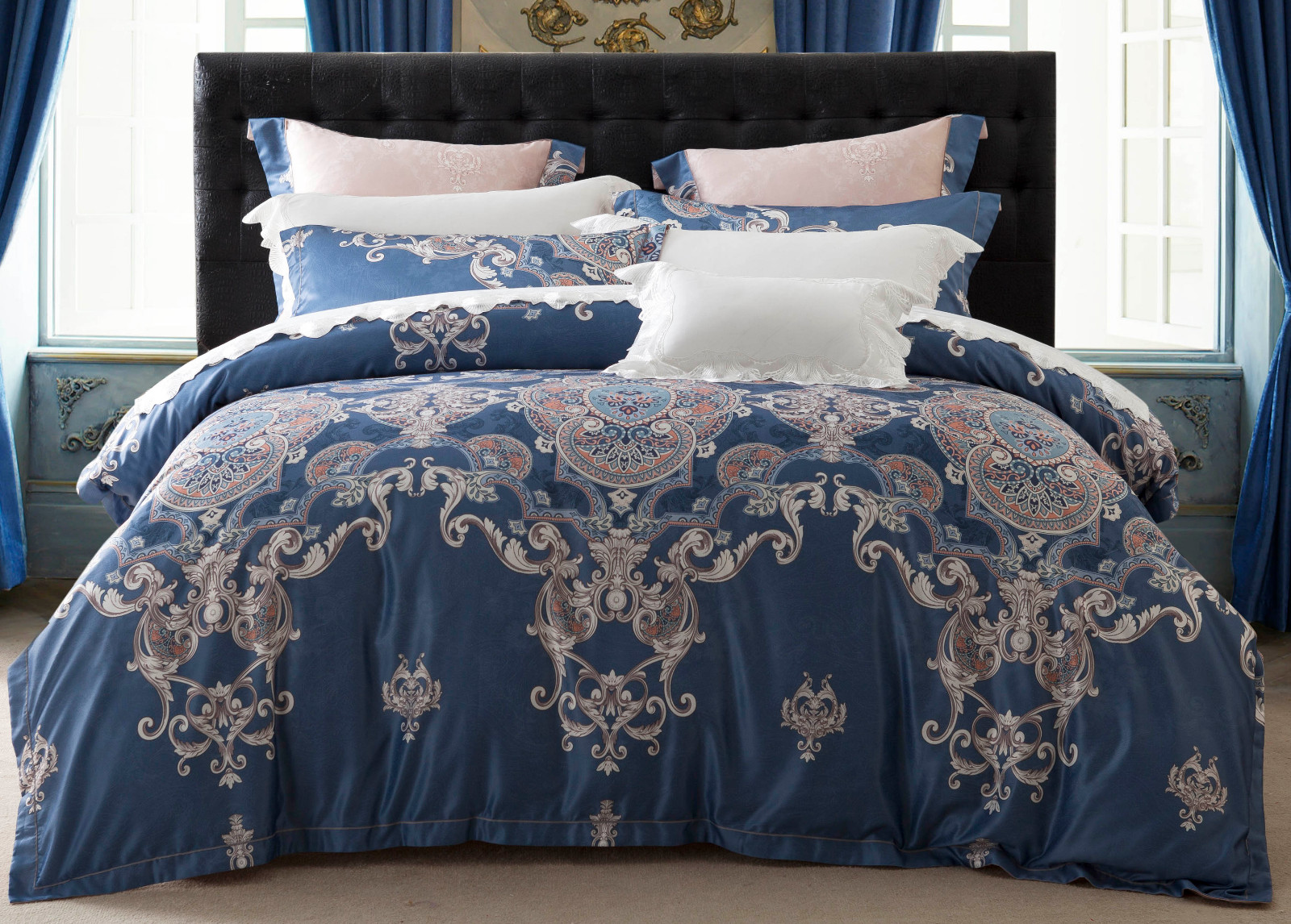 Daphne Jacquard Bedding Set sets vividly style sheet
