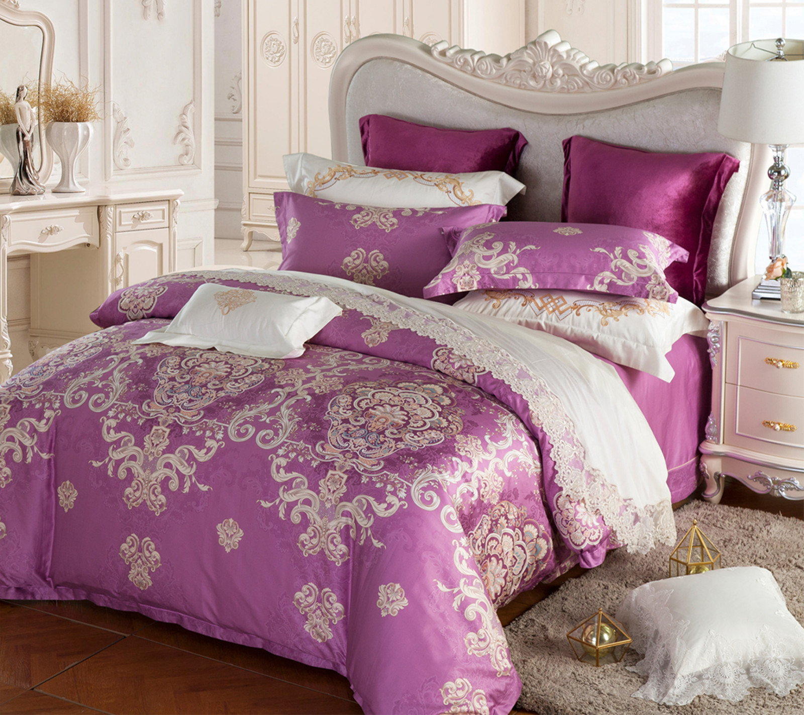 Daphne Brand gorgeous designed 100 cotton bedding sets cotton bed