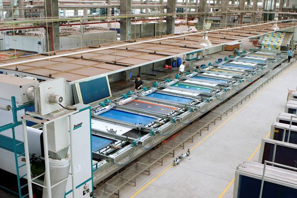 Plate Screen Printing Machine
