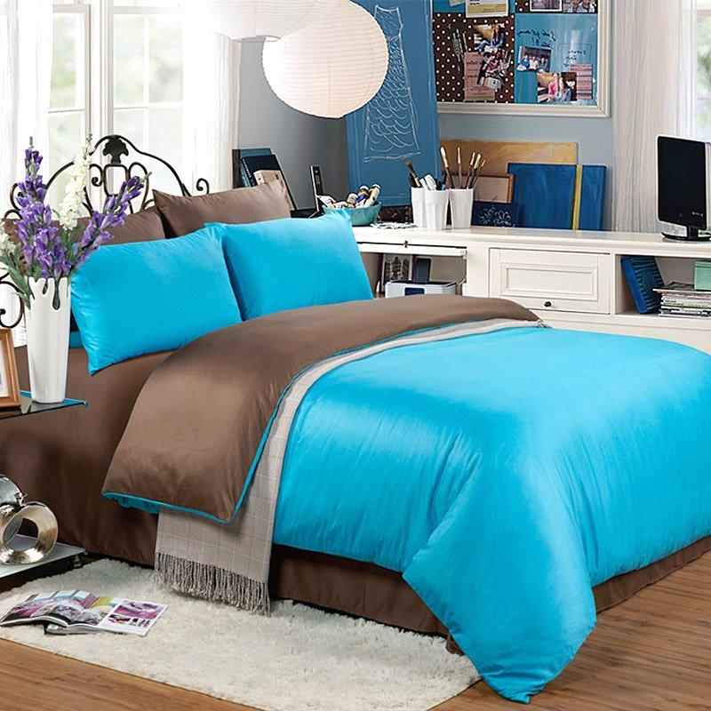 Daphne Solid Color Bed Linen DEA_4016 Solid Color Bedding image7