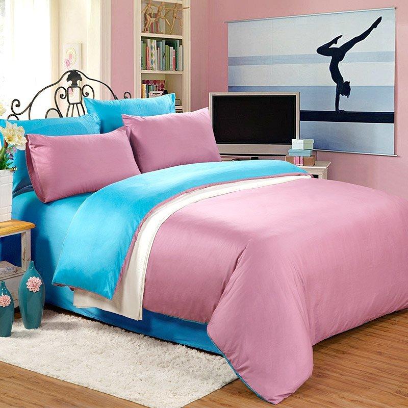 शुद्ध कपास ठोस बिस्तर DEA_4017