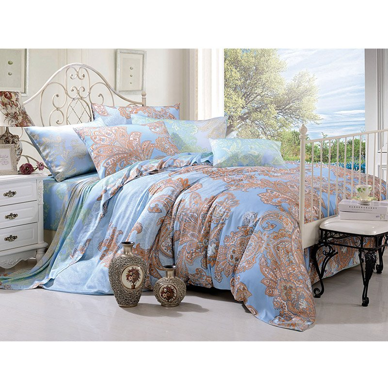 100% Modal Print Healthy Fabric Luxury Bed Linen TY-821
