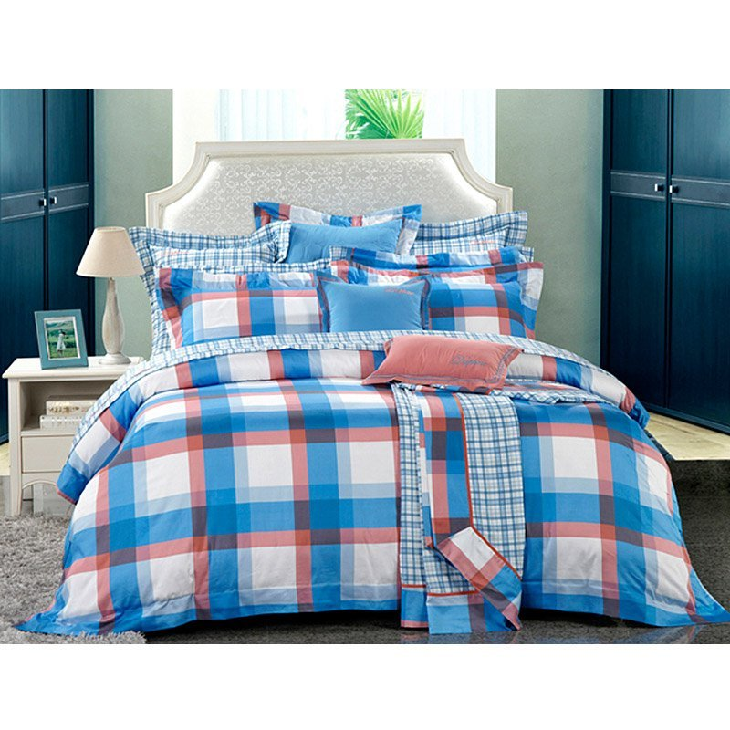 100% Cotton Print Duvet Cover Set DD6401