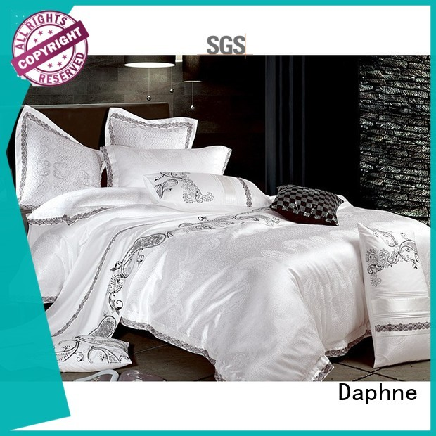 Wholesale polyester jacquard duvet cover king vividly Daphne Brand
