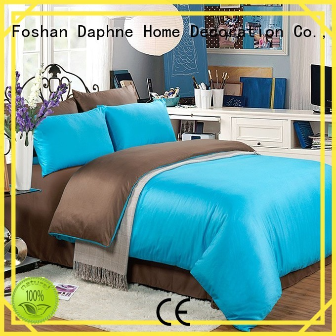 Wholesale cover duvet Solid Color Bedding Daphne Brand