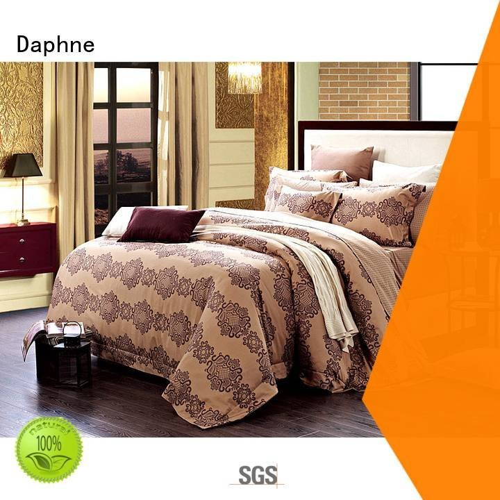 attractive brushed vivid Cotton Bedding Sets Daphne
