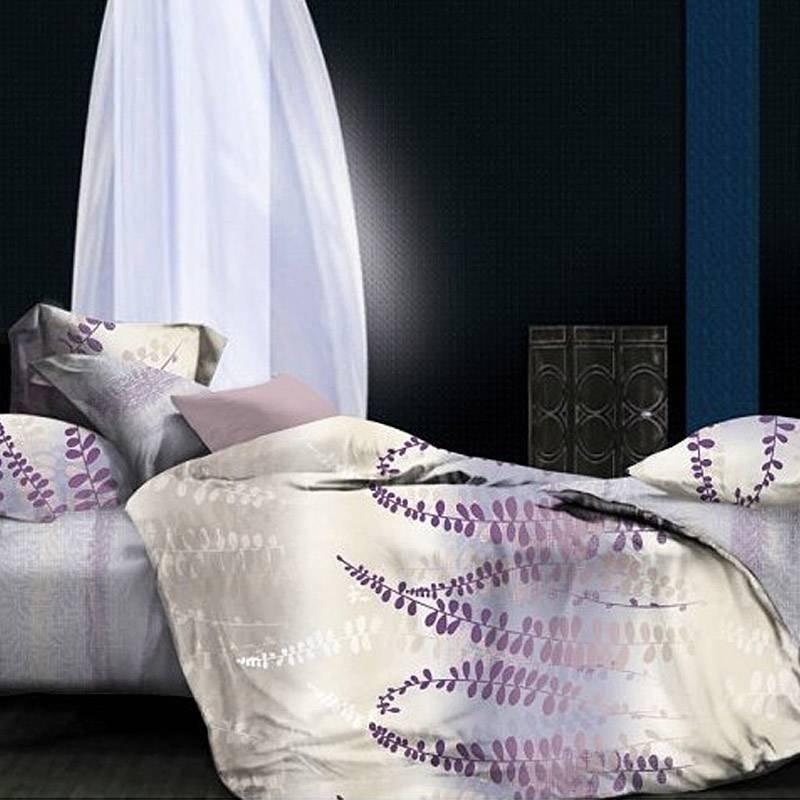 100% Bamboo Cotton Print Natural Bed Linen HMZY061