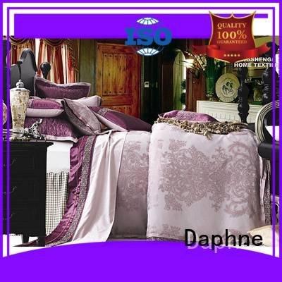 Daphne noble pattern set jacquard duvet cover king sheet