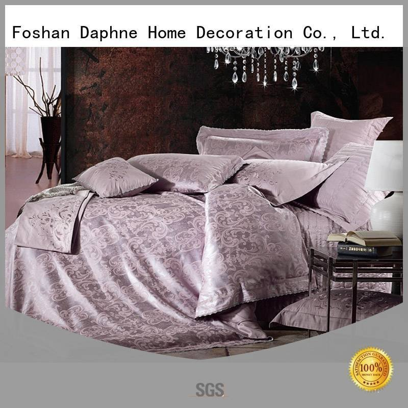 Daphne bedroom silk Jacquard Bedding Set modal print