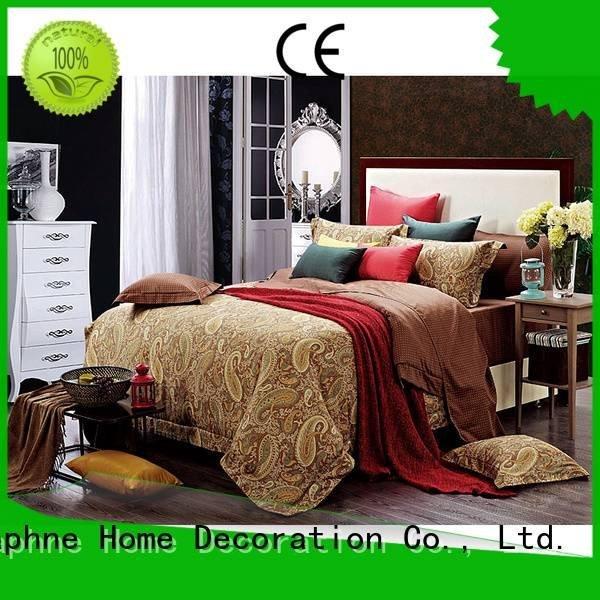elegant gorgeous 100 cotton bedding sets Daphne