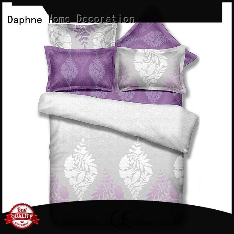 OEM queen size bamboo sheets printed print natural Bamboo Bedding Sets