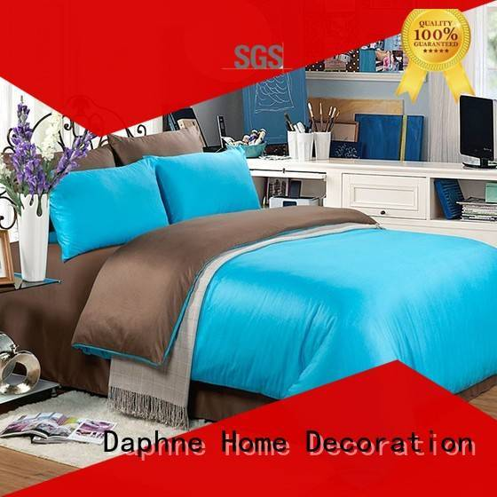 linen bedding sets linen turquoise Solid Color Bedding manufacture
