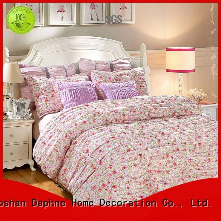 Daphne Brand sheet longstaple colored Cotton Bedding Sets