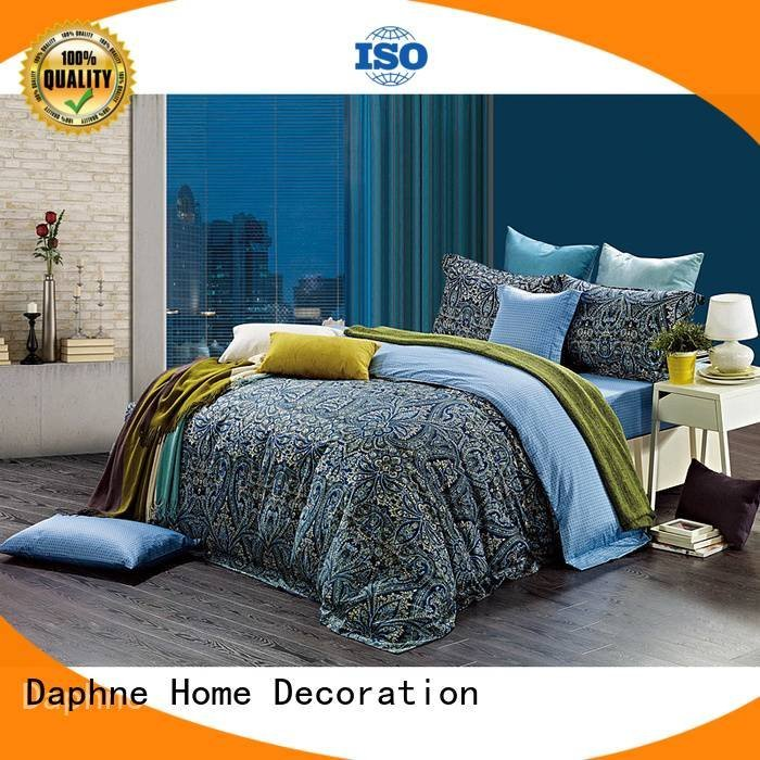 Hot 100 cotton bedding sets printed blossom bedding Daphne Brand