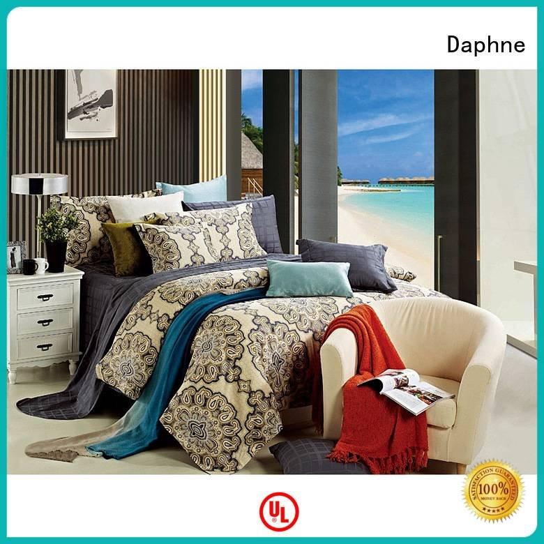 Daphne plaid daphne colored 100 cotton bedding sets quality