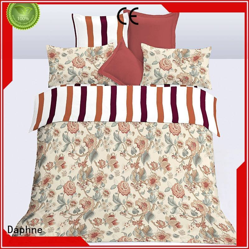 Wholesale super bed microfiber comforter set Daphne Brand