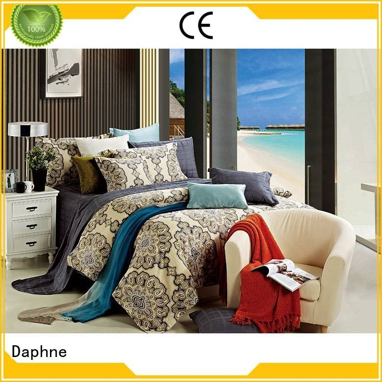 Daphne Brand linen fashionable design 100 cotton bedding sets