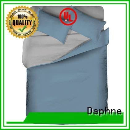 Daphne Brand style linen bedding sets hemstitch egyptian