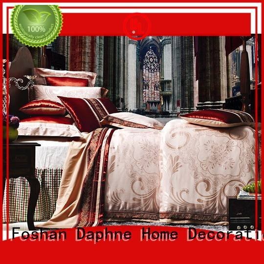 OEM jacquard duvet cover king attractive desings floral Jacquard Bedding Set