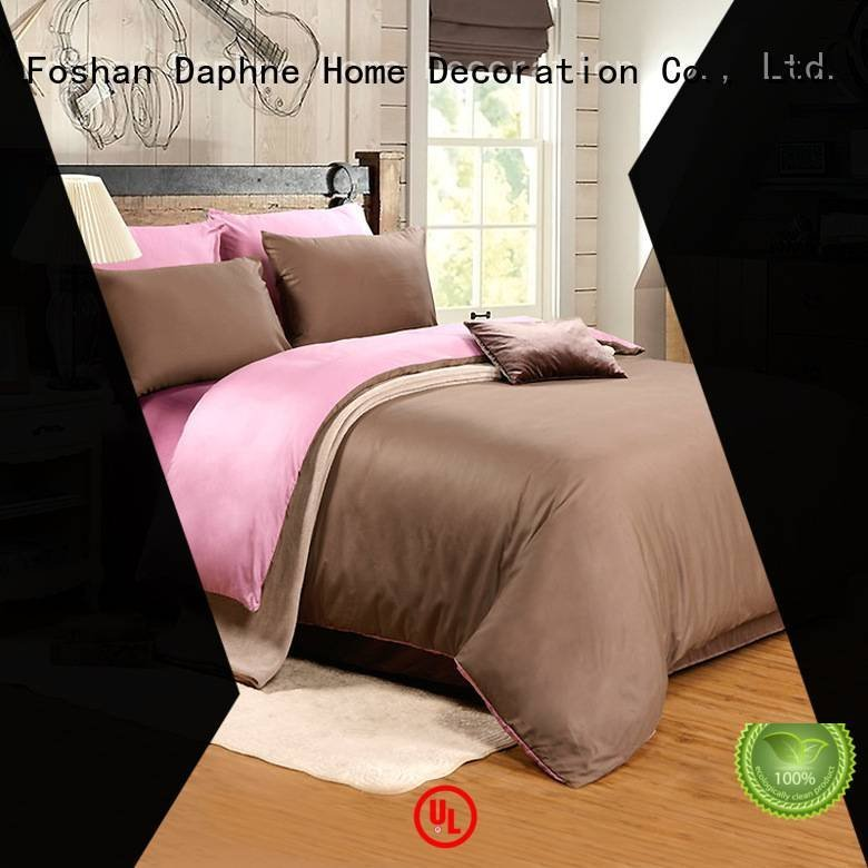 Daphne damask Solid Color Bedding color linen