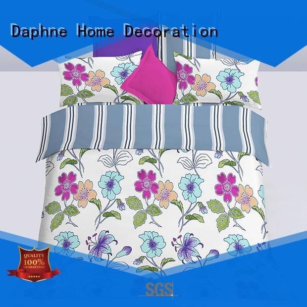 Daphne Brand soft comfortable bed microfiber comforter set super