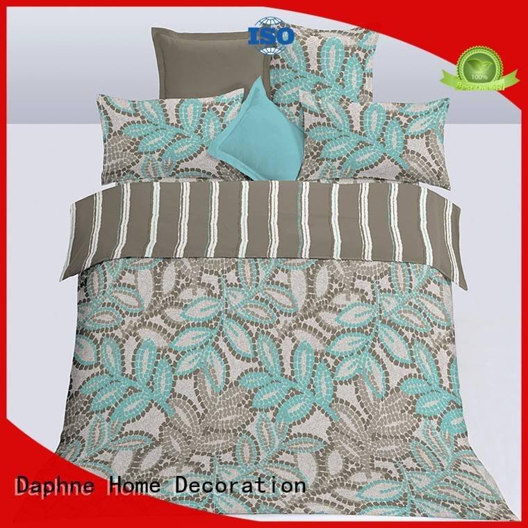 Daphne Brand super soft duvet microfiber comforter set bed