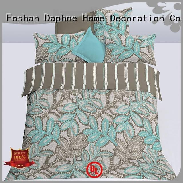 Hot microfiber comforter set microfiber comforter set soft Daphne