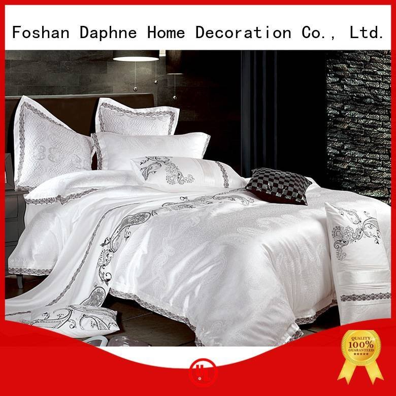 mixed bedroom linen Jacquard Bedding Set Daphne