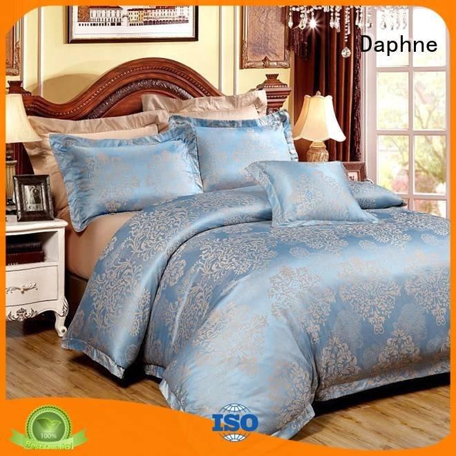 linen style Daphne jacquard duvet cover king