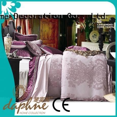 Daphne jacquard duvet cover king comforter set stunning