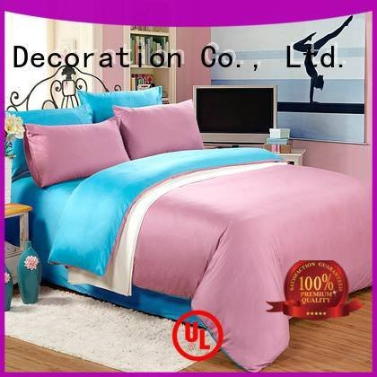 turquoise simple linen Solid Color Bedding Daphne