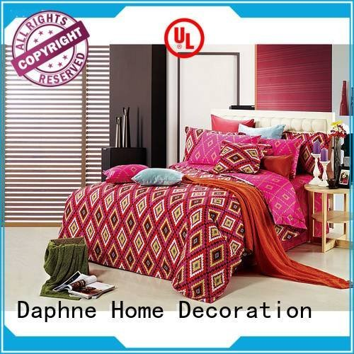 embroidery patterned cover Cotton Bedding Sets Daphne