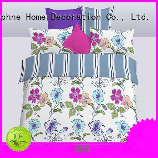 microfiber comforter sheet soft OEM microfiber comforter set Daphne