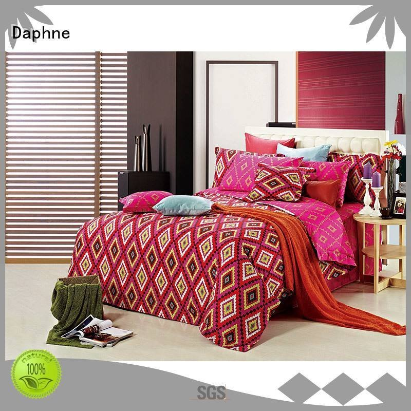 high brushed quality 100 cotton bedding sets Daphne