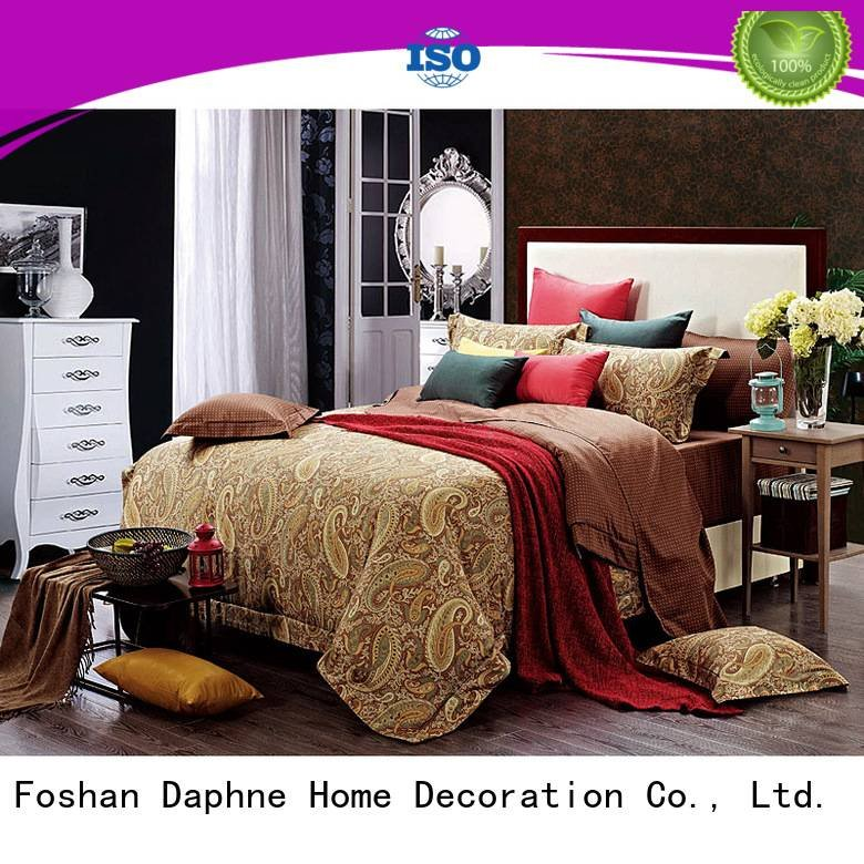 Daphne Cotton Bedding Sets brightly plaid bedroom sophisticated