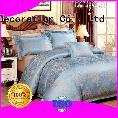 jacquard duvet cover king designed bamboo Jacquard Bedding Set