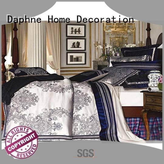 silk modal Daphne jacquard duvet cover king
