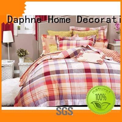 Daphne Brand embroidery 100 cotton bedding sets linen supplier