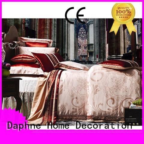 Daphne Jacquard Bedding Set bedding flat rayon floral
