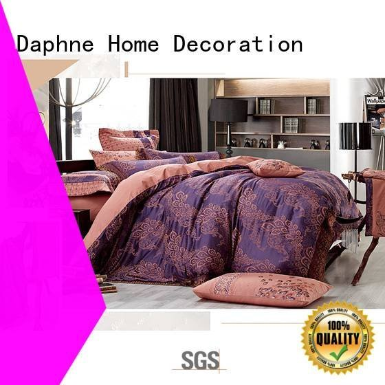 jacquard duvet cover king cover Jacquard Bedding Set Daphne