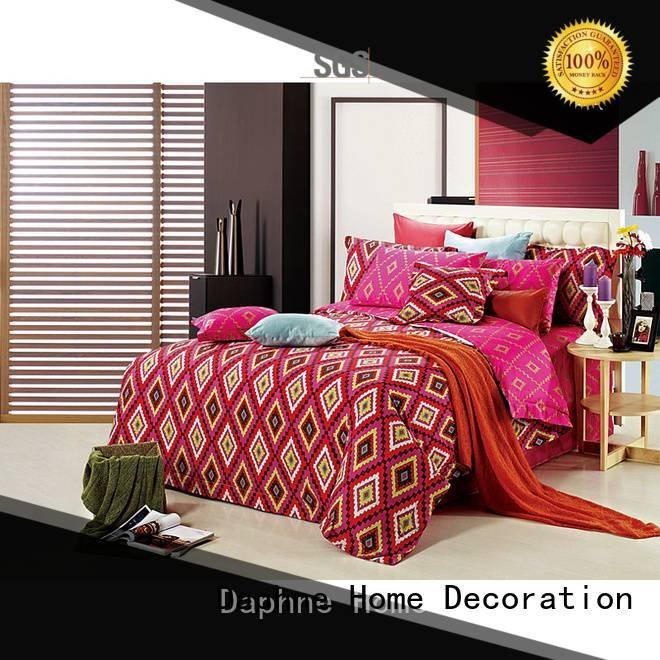 embroidery quality Cotton Bedding Sets bed Daphne
