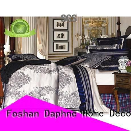 Daphne Brand silk Jacquard Bedding Set set factory