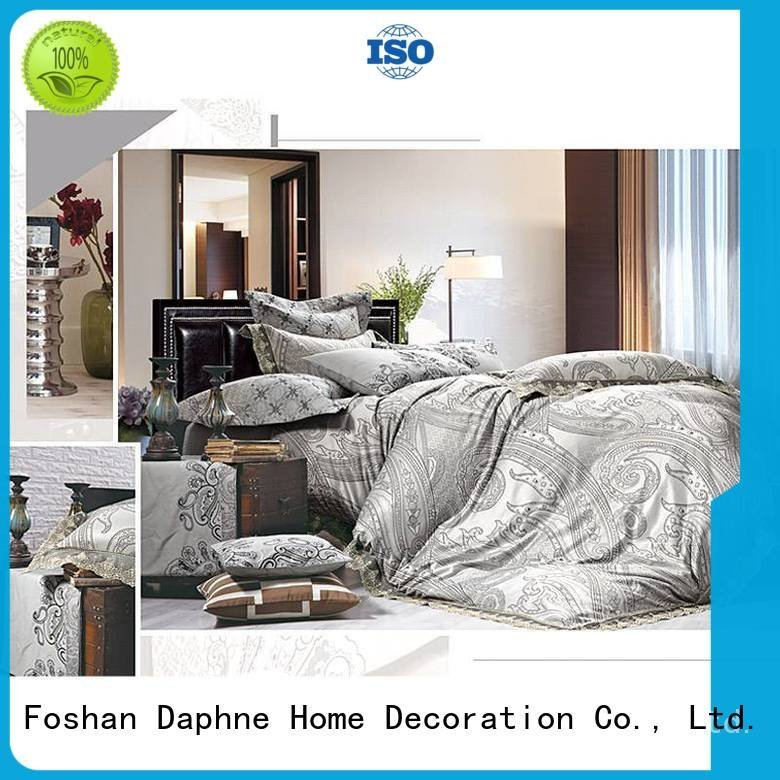 Daphne Brand bamboo set attractive Jacquard Bedding Set
