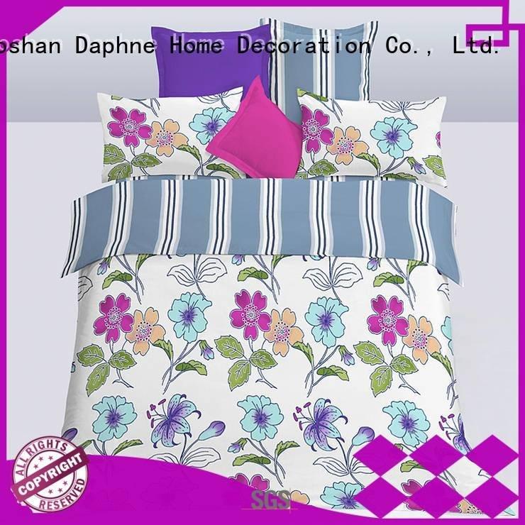 Custom print microfiber comforter set comfortable microfiber comforter