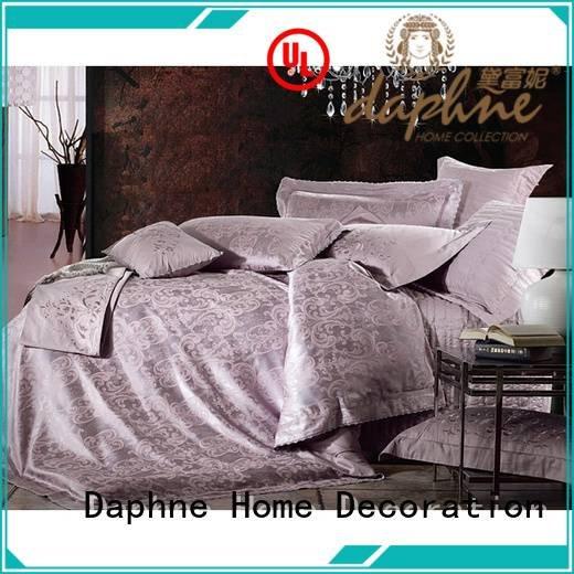Custom cotton Jacquard Bedding Set sheet jacquard duvet cover king