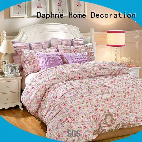 100 cotton bedding sets peony attractive prints fashionable Daphne