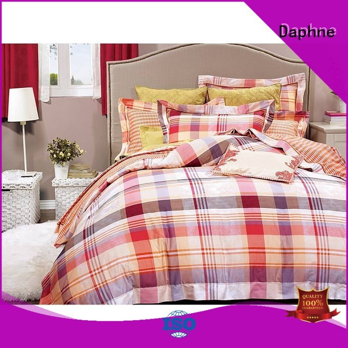 100 cotton bedding sets bed printed Daphne Brand