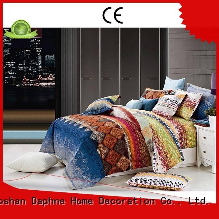 100 cotton bedding sets plaid Daphne Brand